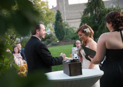 wedded bliss ceremony officiant - quad cities Iowa and Illinois