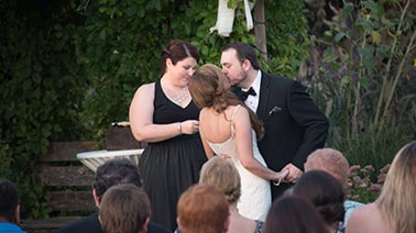 wedded bliss ceremony officiant
