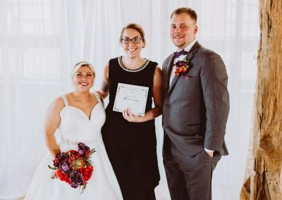 Wedding Ceremony Officiant in the Quad Cities
